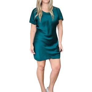 Victoria's Secret Vtg Green Silk Nightgown